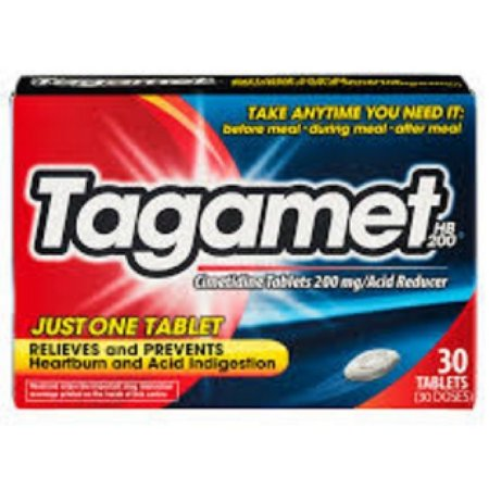 Tagamet Heartburn & Acid Indigestion Tablets, 200 mg, 30 Count Tagamet Acid Reducer, 200mg, Pack of 30
