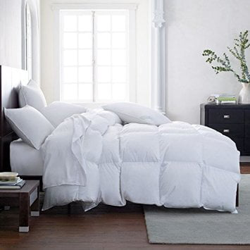 Chocolate Solid Down Alternative Comforter All Seasons Egyptian Cotton US Sizes