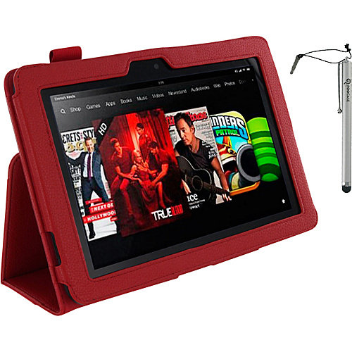 """rooCASE Dual Station Folio w/ Stylus for Kindle Fire HD 8.9"""""""