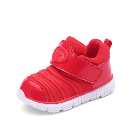 Safety Walk Slip (Baby Sneaker Shoes for Boys and Girls Kids Lightweight Athletic Running Walking Non-slip Shoes )