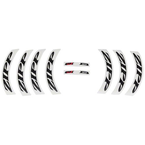 808 Matte White Logo Complete for One Wheel Zipp Decal Set Disc