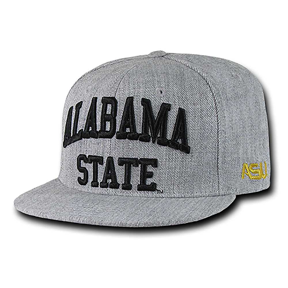 Alabama State Hornets Game Day Fitted Hat (Gray)
