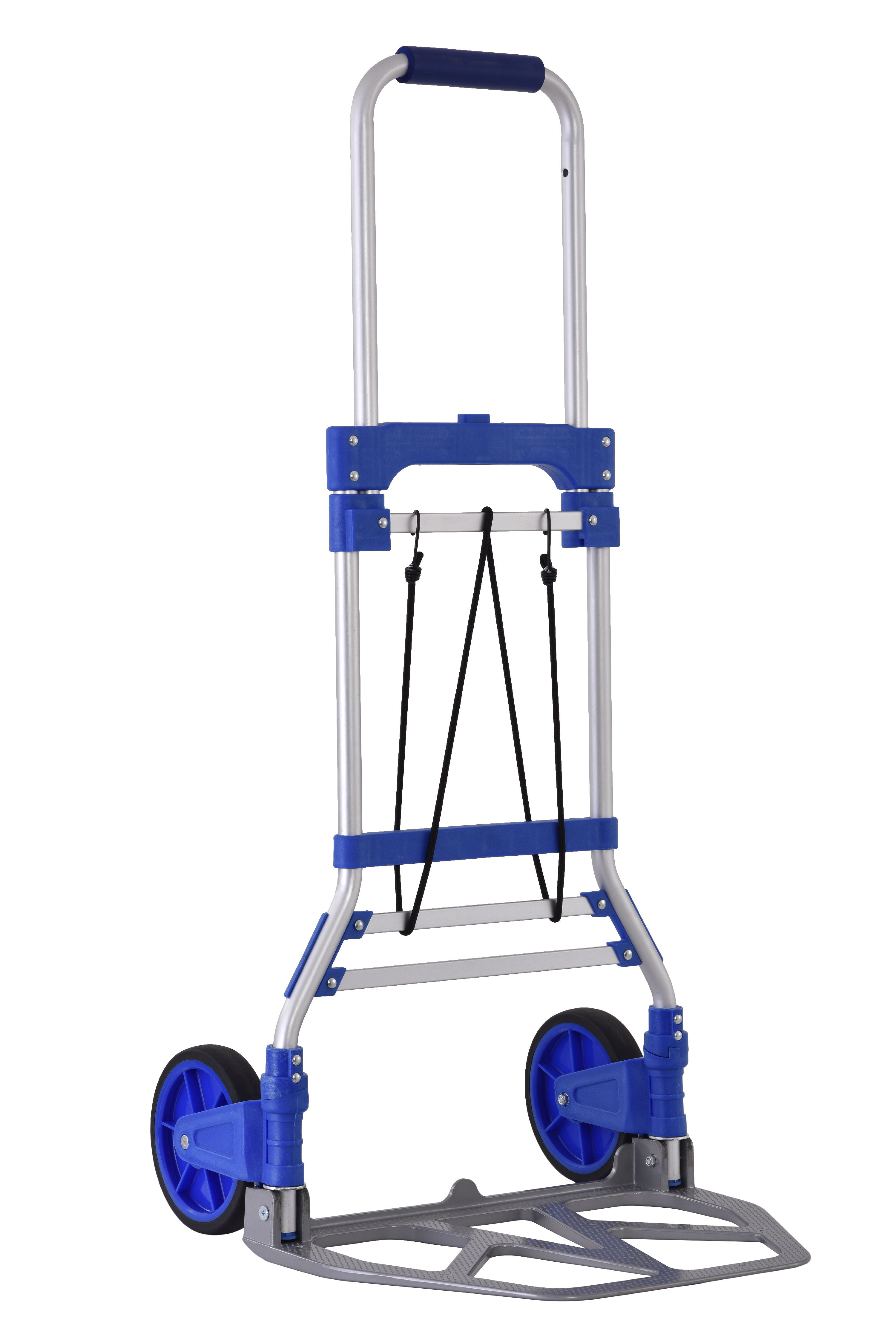 Folding Hand Truck Dolly, 200 lbs Capacity by Muscle Carts