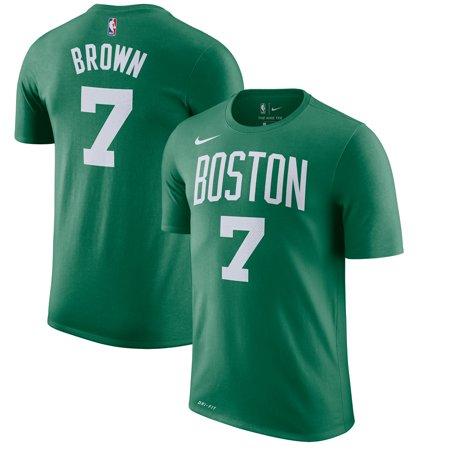the best attitude 963b7 c8e41 Jaylen Brown Boston Celtics Nike Name & Number Performance T-Shirt - Kelly  Green - Walmart.com