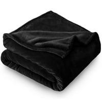 Bare Home Ultra Soft Microplush Velvet Blanket - Luxurious Fuzzy Fleece Fur - All Season Premium Bed Blanket, Twin Extra Long (Twin XL / Twin, Light Pink)