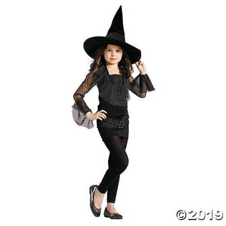 Girl's Sparkle Witch Costume - Medium](Bts Halloween Lyrics)