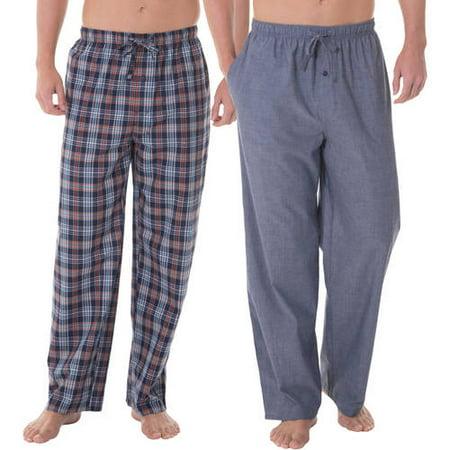 Fruit of the Loom Big Men's 2-pack Woven Sleep Pant