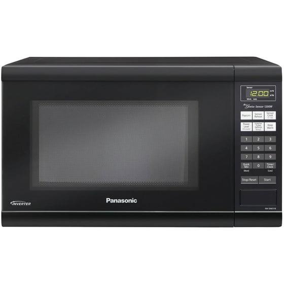 Panasonic Nn Sn651b 1 2 Cubic Ft 200 Watt Microwave Black
