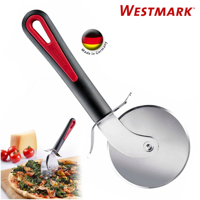 Westmark German Heavy Duty Stainless Steel Pizza Cutter Slicer Wheel 3 inch Red
