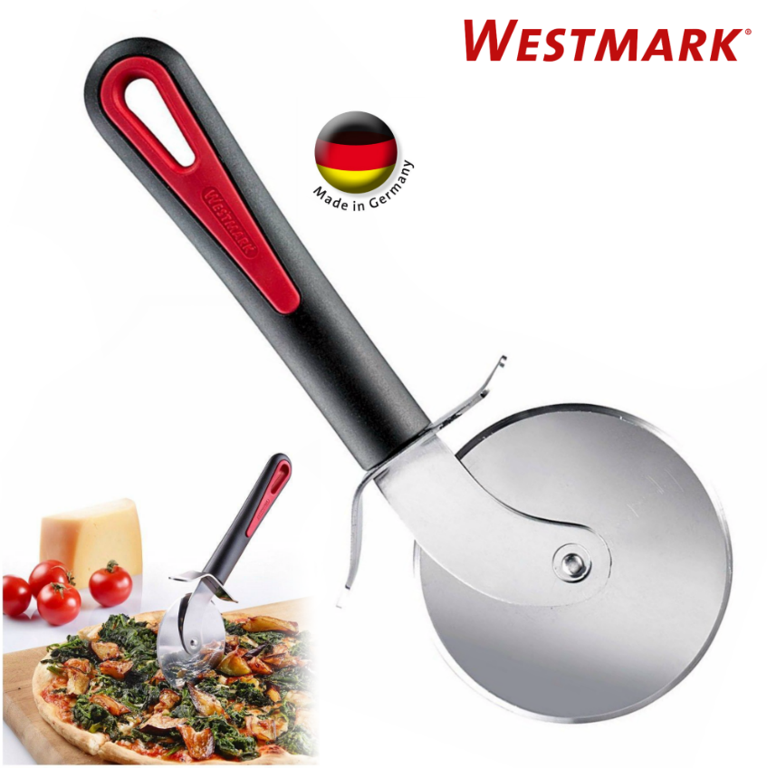 Westmark German Heavy Duty Stainless Steel Pizza Cutter Slicer Wheel 3 inch Red