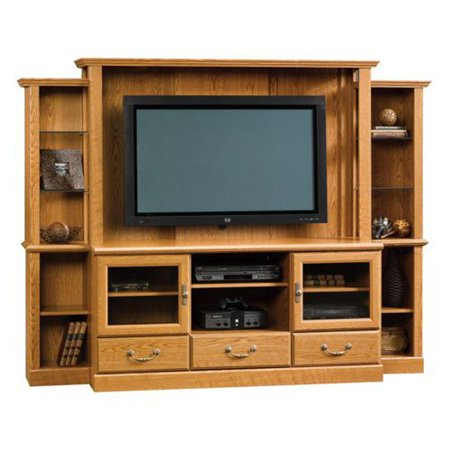 Orchard Hills Carolina Oak Home Theater For Tvs Up To 42   Box 1 Of 2