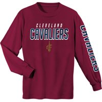 b538f76a4655a7 Product Image Youth Wine Cleveland Cavaliers Team Wordmark Long Sleeve T- Shirt