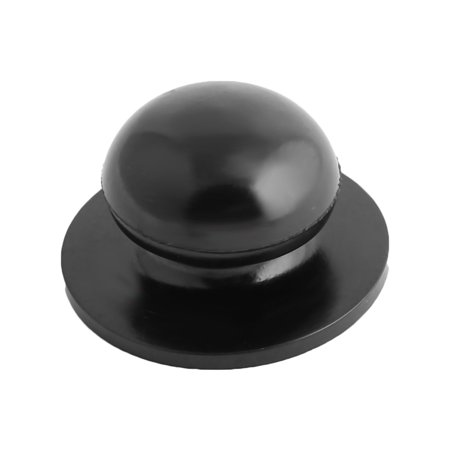 Household Kitchen Cookware Plastic Round Shaped Cooking Tool Pot Lid Knob Black - image 1 de 1