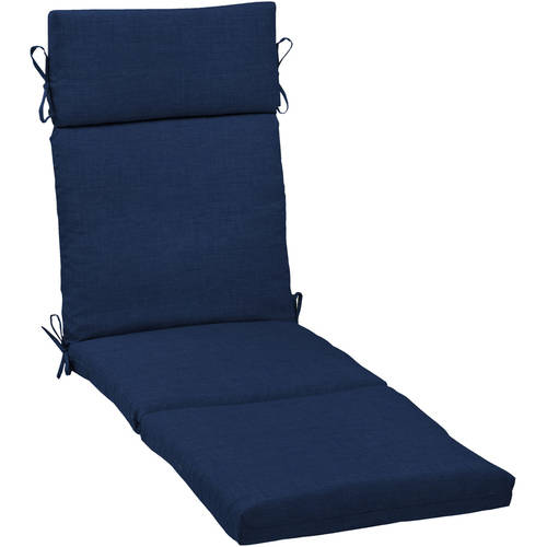 Leala Texture Cartridge Chaise Cushion Sapphire - Arden Selections
