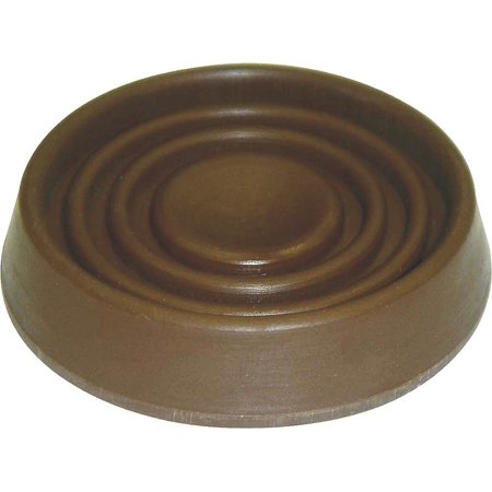 Mintcraft Fe S708 Caster Furniture Cup 1 1 2 In Dia Round Brown