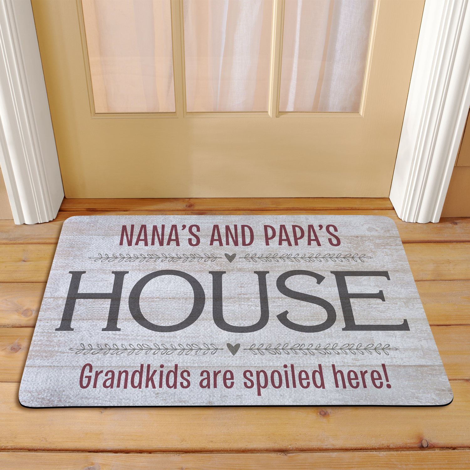 Personalized Grandparents House Doormat