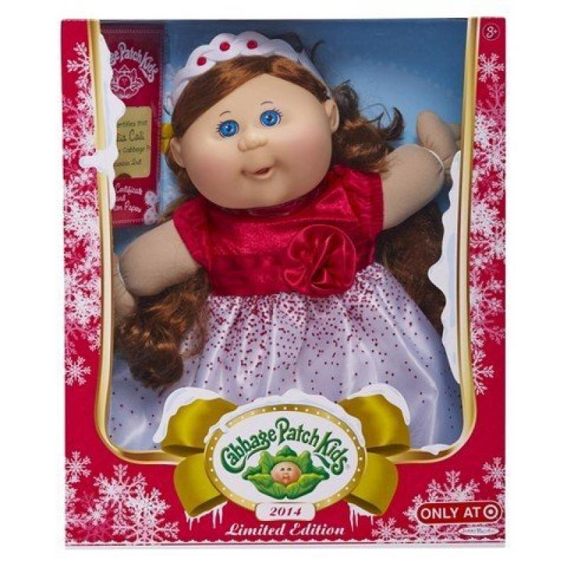 Cabbage Patch Kids 2014 Holiday Caucasian Limited Edition(brunette, Blues Eyes) by
