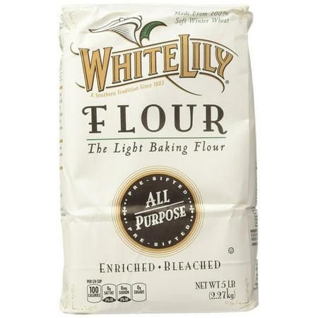 - 8 PACKS : White Lily All Purpose Flour - 80 oz