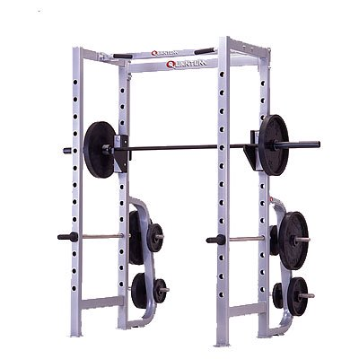 b4b4204a434 Quantum Power Rack w Plate Racks w Chin Pull Up Bars - Walmart.com