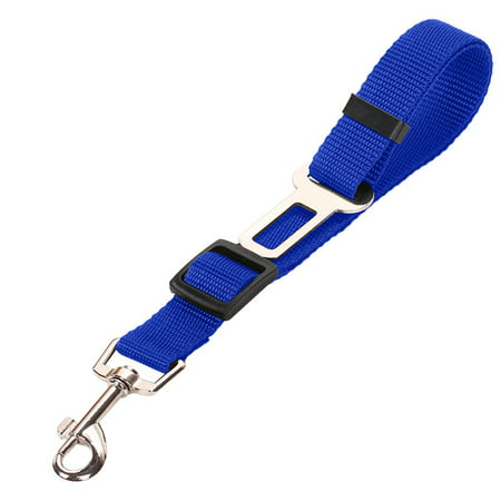 Cat Dog Pet Safety Car Vehicle Strap Seatbelt Seat Belt Adjustable Harness Leash Travel Clip