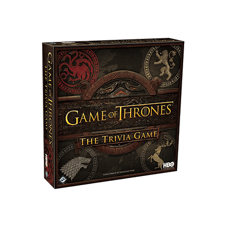 HBO Game of Thrones Trivia Board Game - The Office Trivia Game