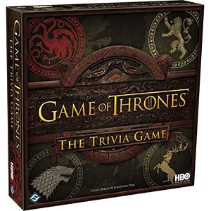HBO Game of Thrones Trivia Board - Best Trivia Board Games