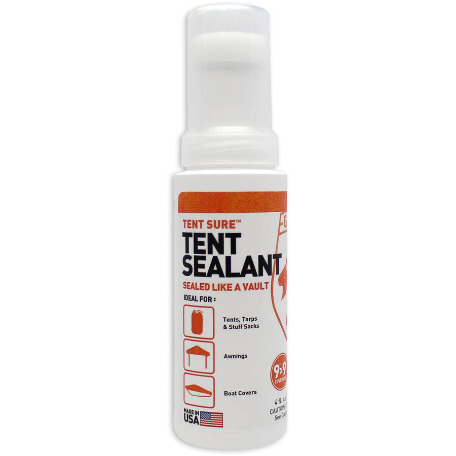 Tent Sure Tent Sealant  sc 1 st  Walmart : tent cleaner and waterproofer - memphite.com