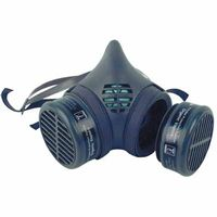 8000 Series Assembled Respirators, Large, Organic Vapors/N95 Cartridges, Sold As 1 Each