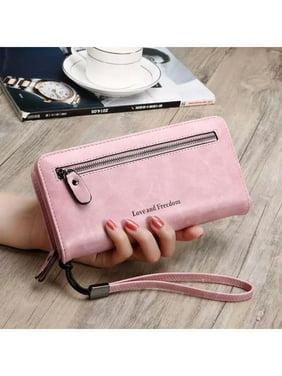 8f91bfe834a7 Product Image PU Leather Long Wallet Clutch Handbag Zipper Organizer  Wristlets Card Cellphone Holder Purse for Women Lady