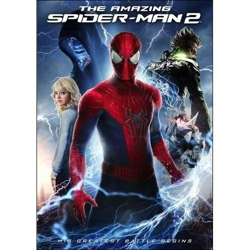 The Amazing Spider-Man 2 (DVD + Digital Copy) (With INSTAWATCH) (Anamorphic Widescreen)