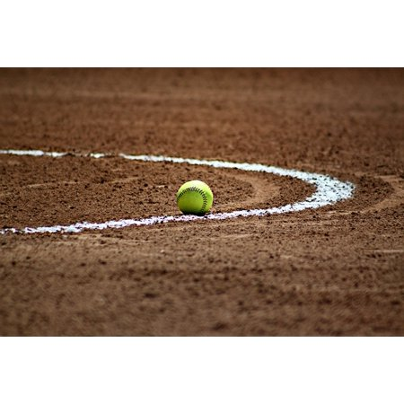 LAMINATED POSTER Softball Laces Field Ball Game Baseball Sport Poster Print 24 x 36 Wrigley Field Framed Pictures