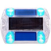 Polycarbonate Solar Power Outdoor Road Path Deck Dock Pool LED Light