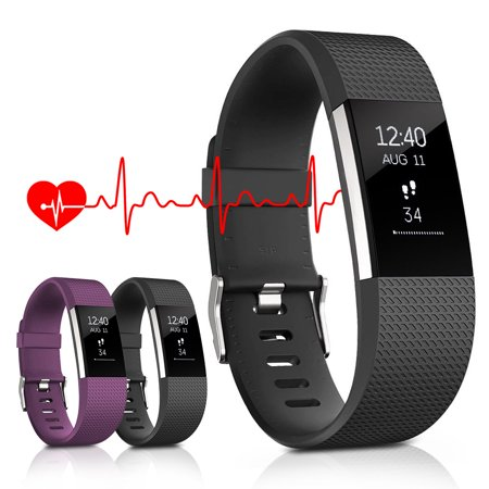 Fitness Tracker, Heart Rate Monitor Activity Tracker, Bluetooth Wireless Smart Wristwatch for Android &