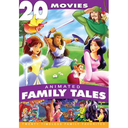 ANIMATED FAMILY TALES (DVD/4 DISC/20 MOVIE COLLECTION) (DVD) (Animated Movie Collection)
