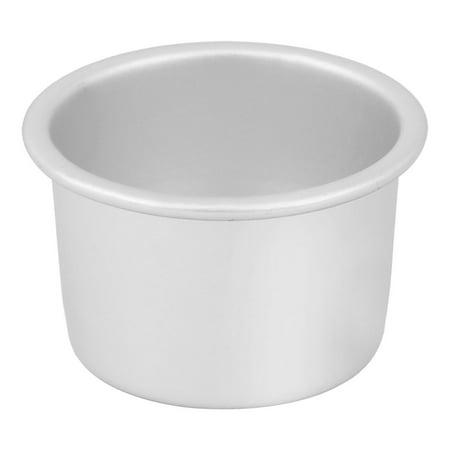 Unique Bargains Aluminum Alloy Silver Tone Removable Bottom Nonstick Bread Cake Mold Mould Pot