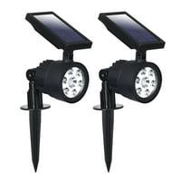 Westinghouse Solar Powered 200 Lumen Garden Spotlight (2 & 4 Pack Option)