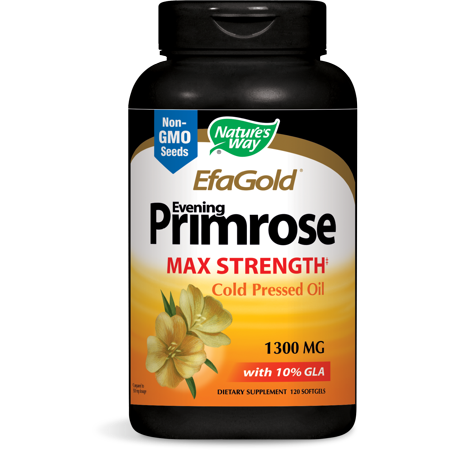 Natures Way EfaGold Evening Primrose Cold Pressed Oil 1300 mg 120