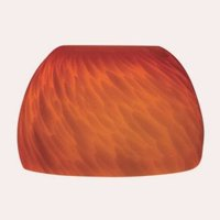 Jesco Lighting-Accessory - Replacement Glass  Red Frit