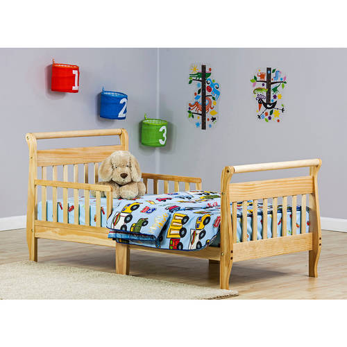 Dream On Me Sleigh Toddler Bed, Choose Your Finish