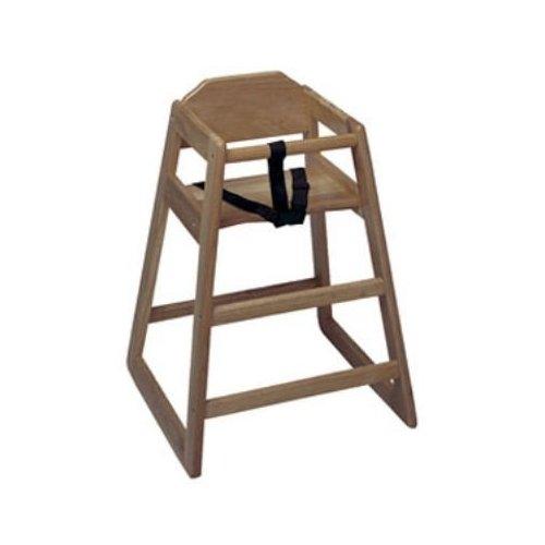 Update International WD-HCWA High Chair Walnut - Assembled