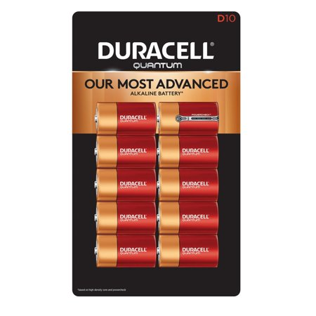 Quantum Instruments Battery Pack (Duracell Quantum Alkaline D Batteries 10 Pk. (pack of 1))