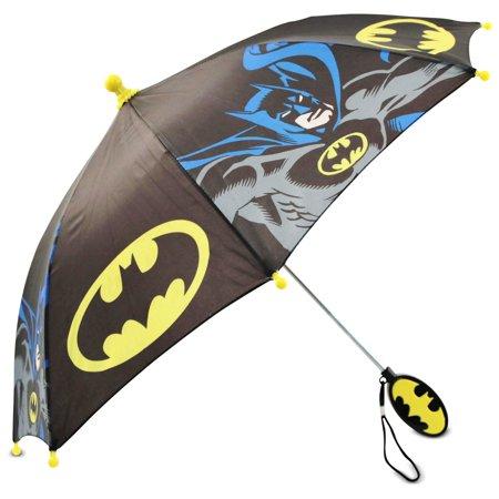 DC Comics Little Boys Batman Umbrella with Character Handle, Age (Dc Comics Umbrella)