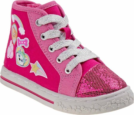 Girls' Josmo O-CH3728C Paw Patrol High Top Sneaker by