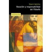 Vocación y responsabilidad del filósofo - eBook