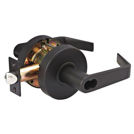 Lever Lockset,Mechanical,SLC Angled MASTER LOCK SLCICSR10B