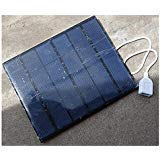 3.5W 6V 0 580mAh 165x135x2mm DLY Mini Power Polycrystalline Solar Panel USB Travel Battery Charger For Power B