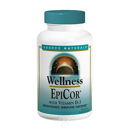 Source Naturals EPICOR WITH VITAMIN D-3 120C 120 cap, Pack of 2