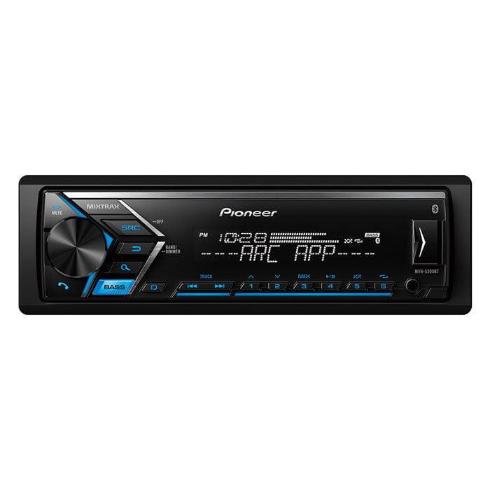 PIONEER MVH-S300BT SINGLE DIN BLUETOOTH IN-DASH AM/FM/DIGITAL MEDIA CAR STEREO RECEIVER W/ DUAL PHONE CONNECTION