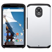 For XT1103 Nexus 6 Silver/Black Astronoot Phone Protector Cover