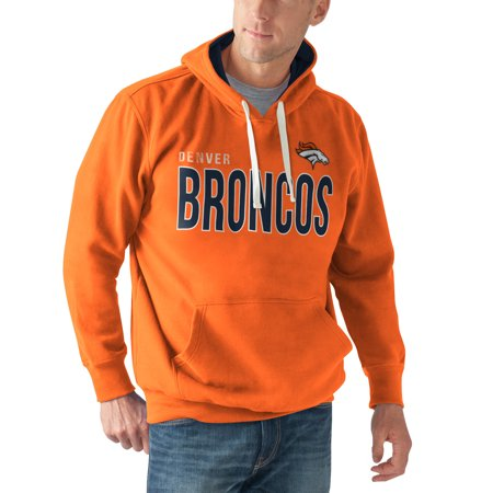 Denver Broncos G-III Sports by Carl Banks All-Star Pullover Hoodie - Orange